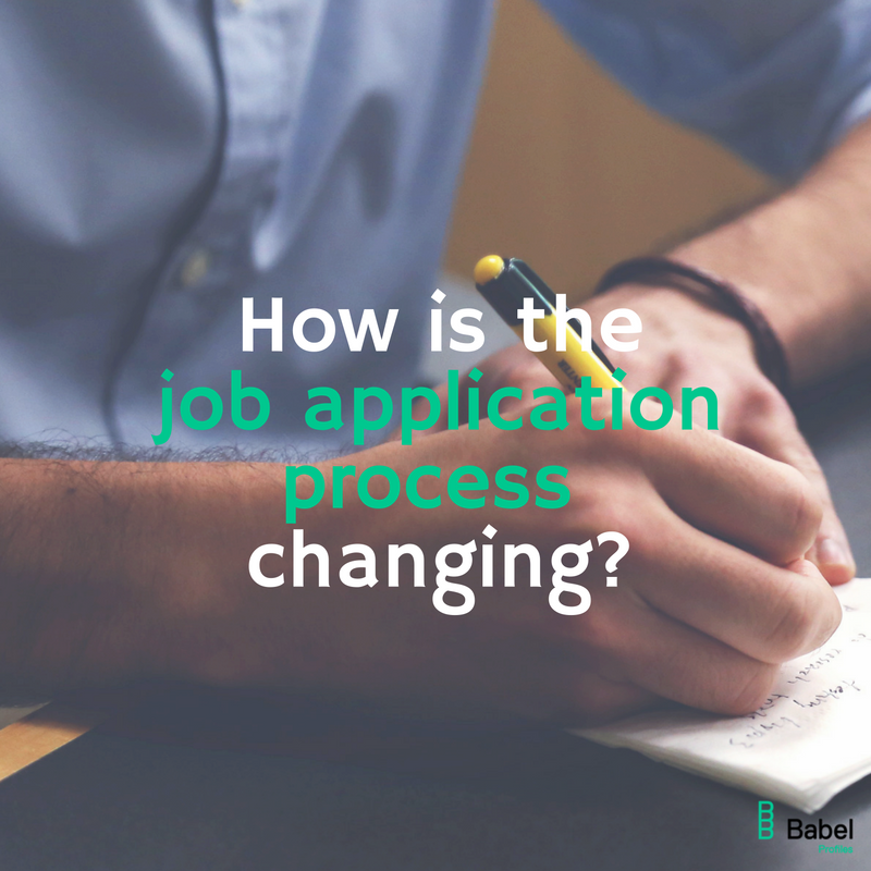 How Is The Job Application Process Changing?